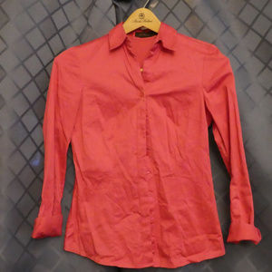 The Limited Button Up Pink Blouse